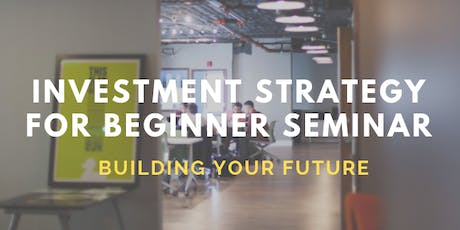 INVEST WITH THE RIGHT MINDSET IN BUILDING YOUR FUTURE tickets