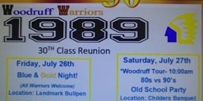 Woodruff High School 30th Class Reunion