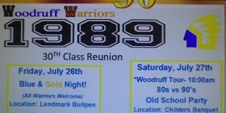 Woodruff High School 30th Class Reunion