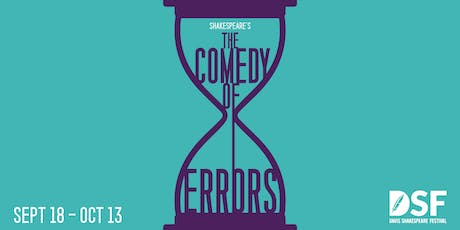 The Comedy of Errors, 09/18 (PREVIEW) tickets