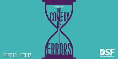 The Comedy of Errors, 09/20 (OPENING)