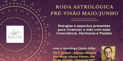 Astrologia:Previsões Maio/Junho para Consciência e Fluidez Pessoal (Mantra)