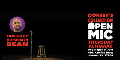 HMAAC Presents: Dorsey's Collection Open Mic Night hosted by Outspoken Bean