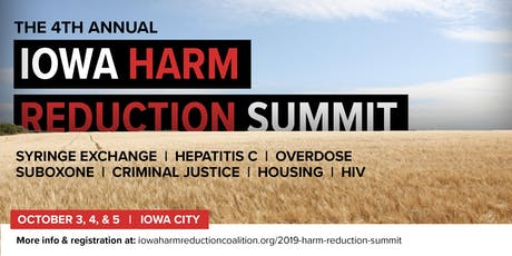 4th Annual Iowa Harm Reduction Summit tickets