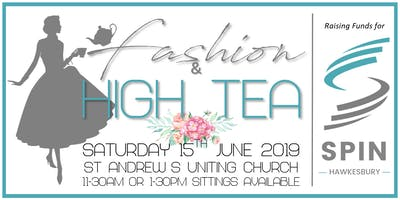 SPIN Hawkesbury Fashion & High Tea