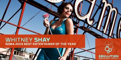 Whitney Shay & The Hustle SD Music Awards Artist Of The Year