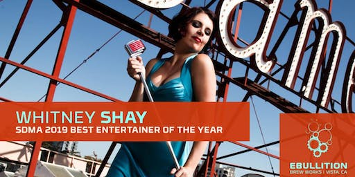 Whitney Shay & The Hustle SD Music Awards Artist Of The Year At Ebullition Brew Works