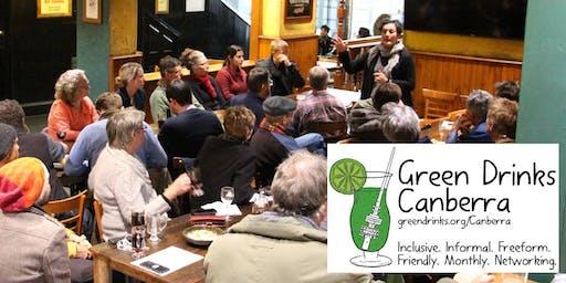 Green Drinks Canberra August 2019: Matt Kendall (ACT catchment management)