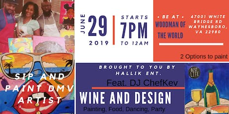 Wine and Design tickets