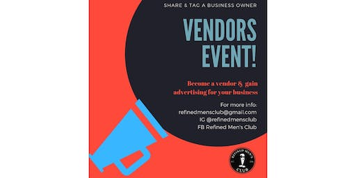Want to be a vendor?