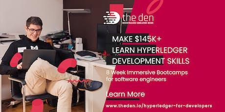 Hyperledger Engineering Masterclass   Part-Time 4wks @ Starfish.Network  tickets