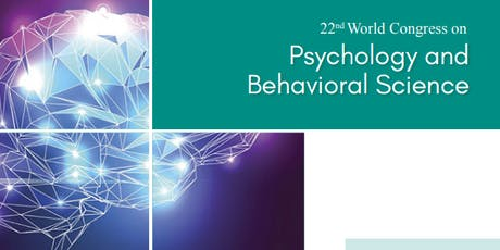22nd World Congress on Psychology and Behavioral Science (PGR) tickets