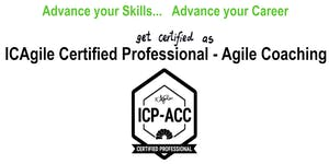ICAgile Certified Professional - Agile Coaching (ICP...