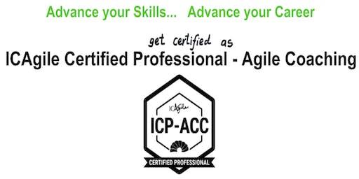 ICAgile Certified Professional - Agile Coaching (ICP ACC) Workshop - Raleigh NC - Guaranteed to Run