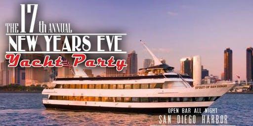 New Years Eve Yacht Party - San Diego
