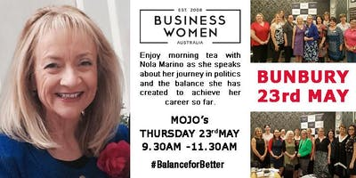 Bunbury: Business Women Australia Circle, #BalanceforBetter