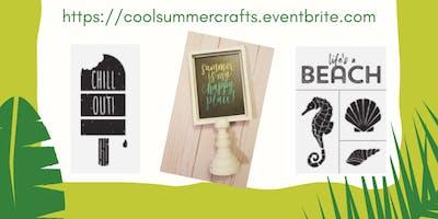 Cool Summer Crafts