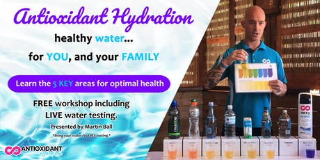 Antioxidant Hydration For Your Health - Kalgoorlie, WA tickets