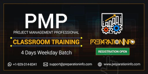 PMP 4 Days Classroom Weekday Training and Bootcamp in Vancouver