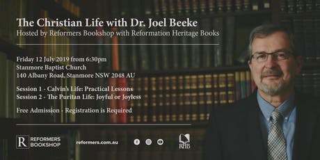 The Christian Life with Joel Beeke tickets