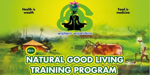 Natural Good living Training Program (English) - Dubai