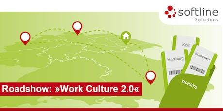 Work Culture 2.0 – Digital Workplace und Unternehmenskultur – München Tickets