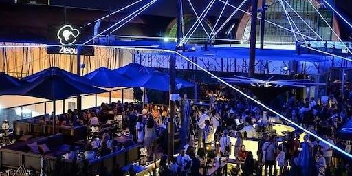 Tardeo con buffet, barra libre y piscina en impresionante terraza