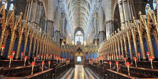 TOUR | Westminster Abbey, the Queen's Diamond Jubilee Galleries, and Evensong SOLD OUT