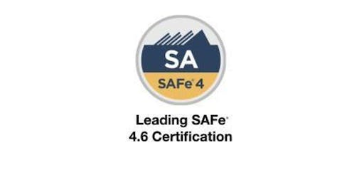 Leading SAFe 4.6 with SA Certification Training in San Jose, CA on Aug 10 - 11th(Weekend)2019