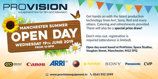 ProVision Manchester Open Day 2019