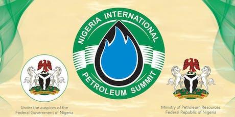 Nigeria International Petroleum Trade Exhibition 2020 - Visitor tickets