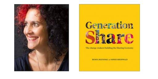 Generation Share  Book Launch with Benita Matofska