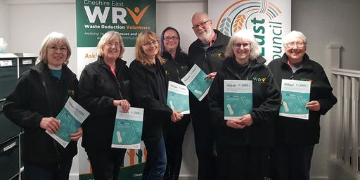 Cheshire East Waste Reduction Volunteers recruitment drop in session