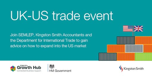 UK-US trade event: Expanding your business overseas