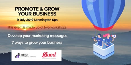 Promote & Grow your Business tickets