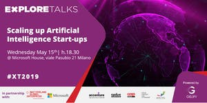 Explore Talks - Scaling up Artificial Intelligence...