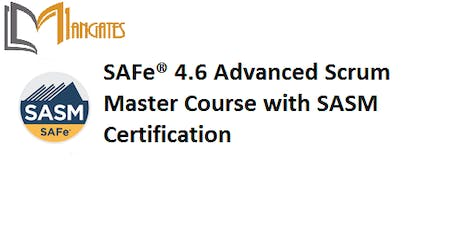SAFe® 4.6 Advanced Scrum Master with SASM Certification Training in Sydney on 25th - 26th Jul, 2019 tickets