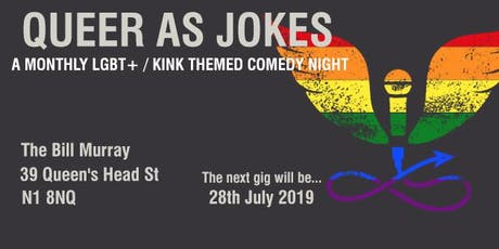 Queer as Jokes - July 2018 tickets