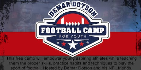 Demar Dotson 2019 Youth Football Camp tickets