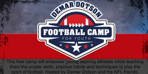 Demar Dotson 2019 Youth Football Camp