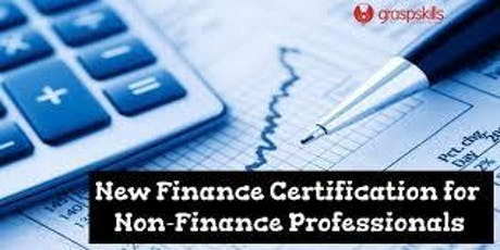 Finance for Non-Finance Professionals Certification Training Worklshop - Bangalore tickets