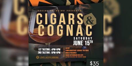 Social Drinking: Cigars & Cognac  tickets