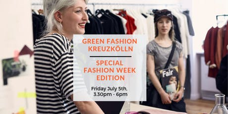 Green Fashion Tour Kreuzkölln - Special Fashion Week Edition Tour II Tickets