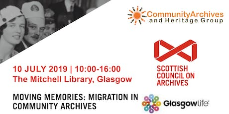Community Archives and Heritage Group Conference 2019 tickets
