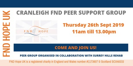 Cranleigh FND Peer Support Group tickets