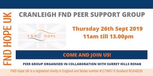 Cranleigh Peer Support Group