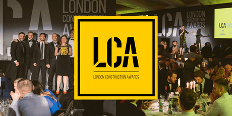 London Construction Awards (LCA) part of London Build  tickets