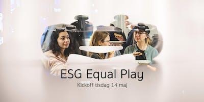 Spelkväll och kickoff för ESG Equal Play