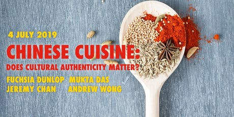 Chinese Cuisine: Does Cultural Authenticity Matter? tickets