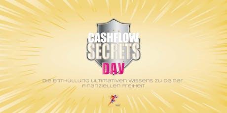 2. CASHFLOW SECRETS DAY – Die Enthüllung ultimativen Wissens zu deiner finanziellen Freiheit Tickets